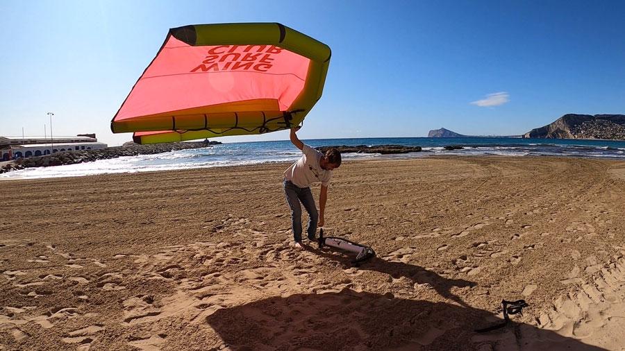 El wingsurf llega a nuestras playas Entrevista en Onda Vasca