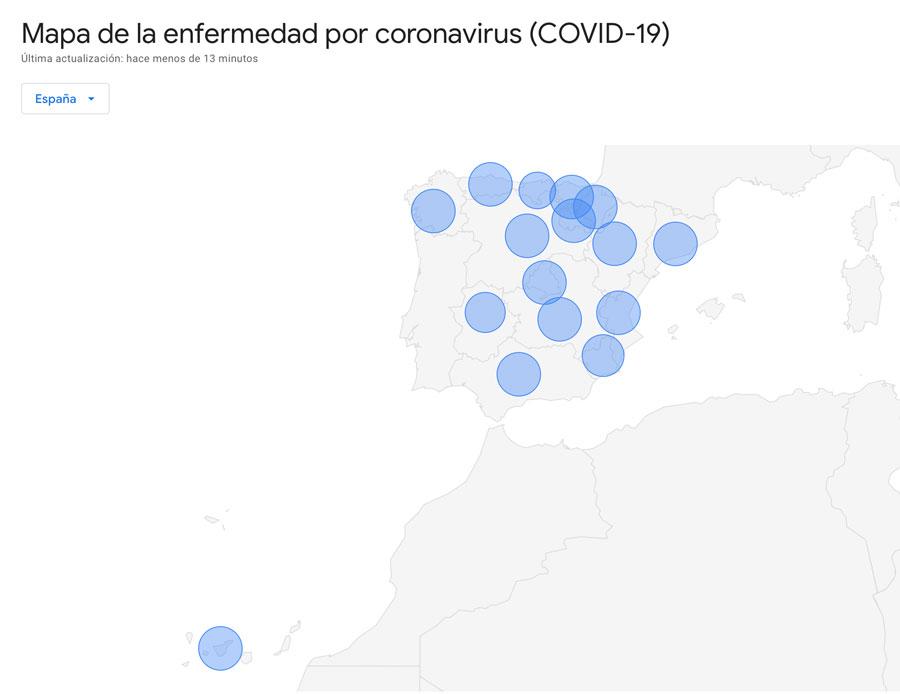 Actualización Covid-19 cursos presenciales SUP